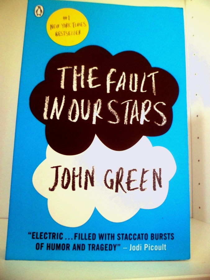 The Fault In Our Stars Front Cover